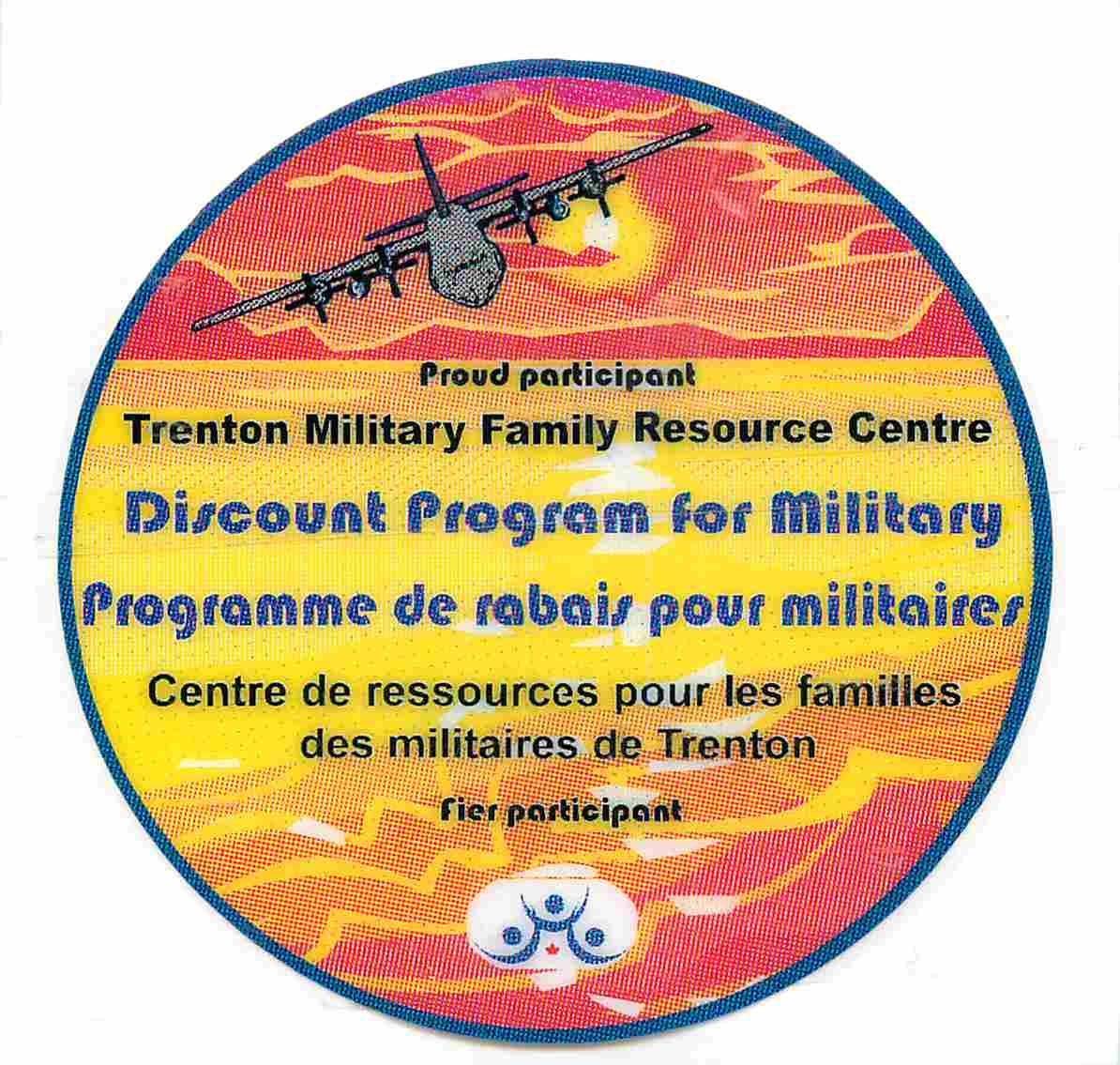 Proud supporter of the Trenton Military Family Resource Centre