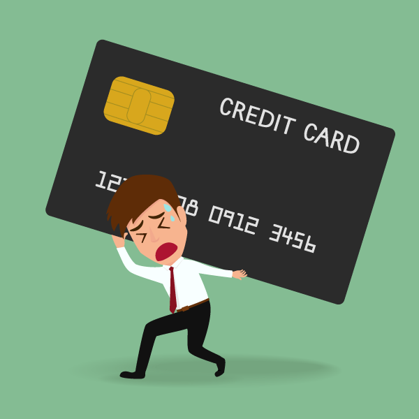 High credit card bills giving you the winter blues?